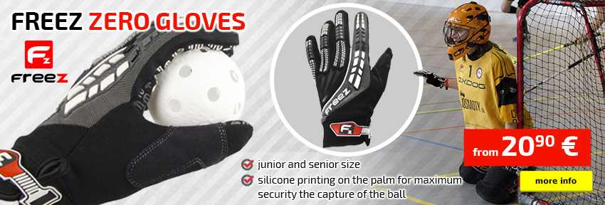 Freez Zero goalie gloves